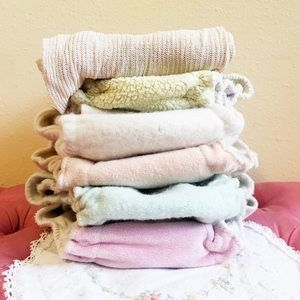 Organic Wool Diaper Lot